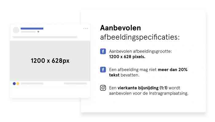 Afbeeldingspecificaties Facebook