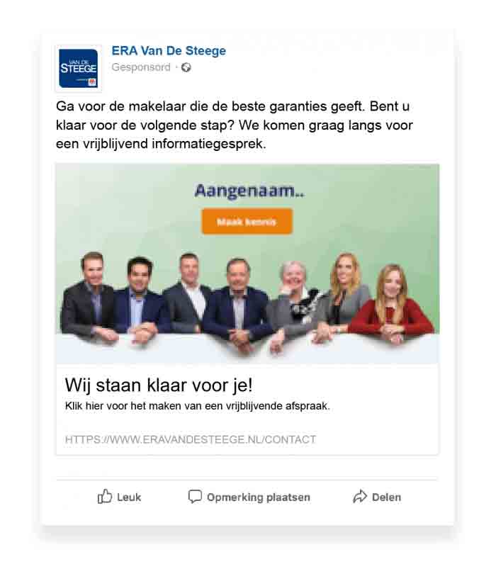 Advertentievoorbeeld Moving Digital